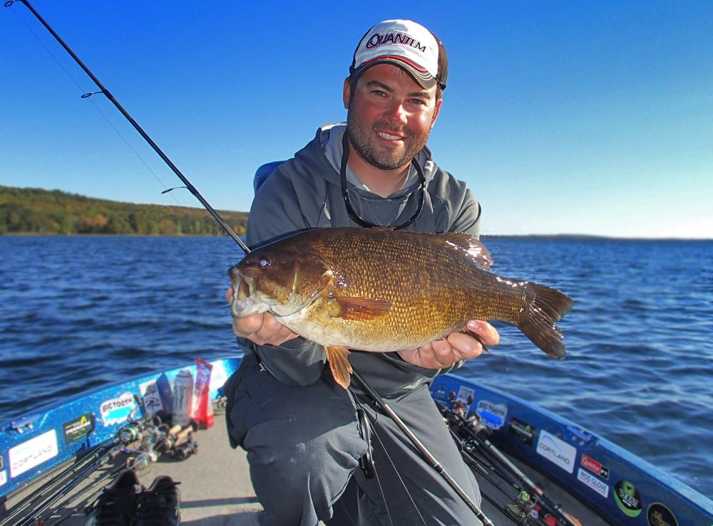 Fishcast blog northwoods bass fishing report october 2016 for Bass fishing season