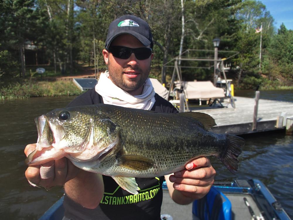 Wisconsin bass fishing guide northwoods bass fishing for Spring bass fishing