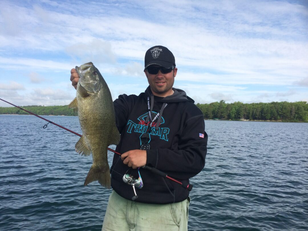 Wisconsin bass fishing guide northwoods bass fishing for Fishing for bass